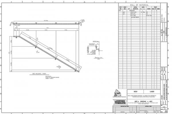Wall Rail Detail